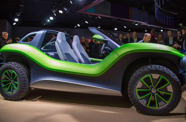 VW's dune buggy concept is ridiculous EV fun