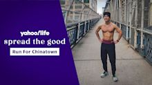 Man runs more than 60 miles in 12 hours to support frontline workers and NYC's Chinatown
