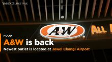 A&W returns to Singapore after 16 years at Jewel Changi Airport