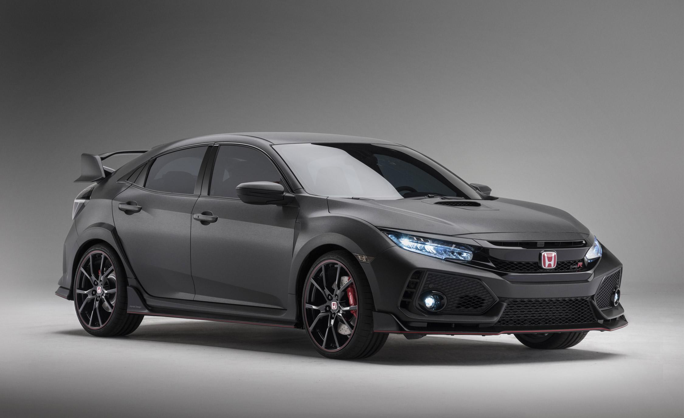 2017 honda civic type r a manual only hard core civic with 306 hp. Black Bedroom Furniture Sets. Home Design Ideas