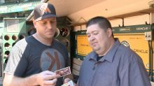 Opening 25-year-old baseball cards with A.J. Ellis