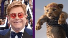"""Elton John describe la nueva versión de El rey león como una """"enorme decepción"""""""