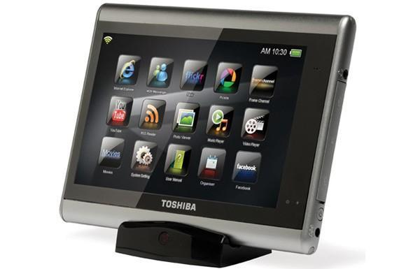 Toshiba will have its own family of slates by this time next year