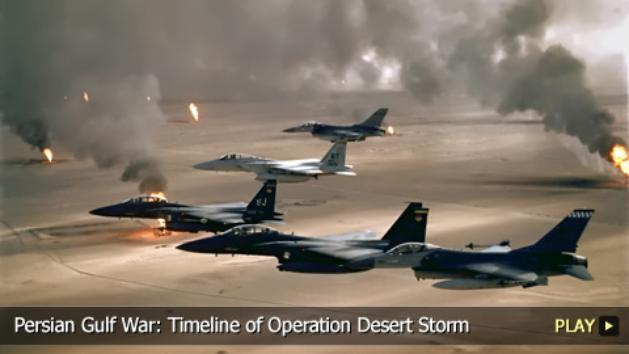 Persian Gulf War: Timeline of Operation Desert Storm