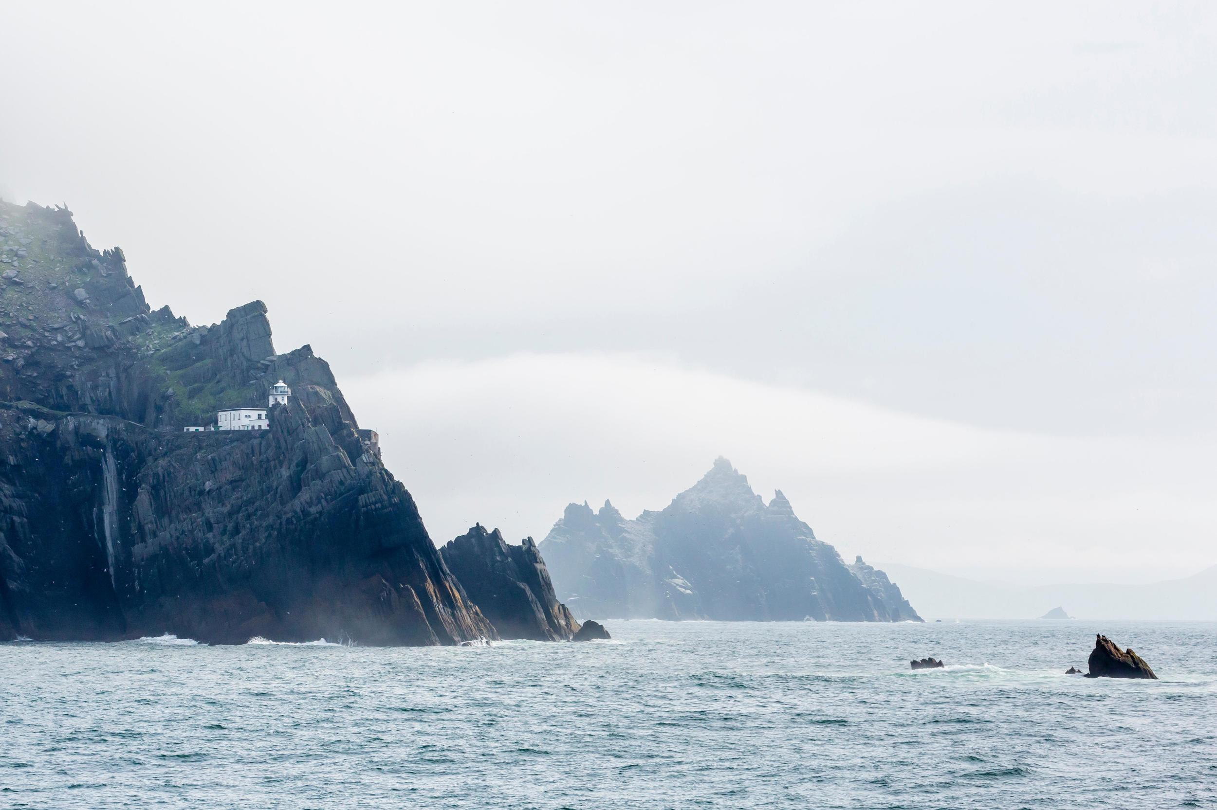 """A long time ago, far, far away… a small band of monks established a hidden base on a remote, wave-pounded hunk of rock rising out of the Atlantic like a giant triangle. With a setting like this, it's no wonder Skellig Michael made the new<i>Star Wars</i>location list. To get to this far-flung isle, a boat trip is necessary from theSkellig Ring, perhaps <a href=""""http://travel.aol.co.uk/tag/ireland"""" target=""""_blank"""">Ireland</a>'s most charismatically wild and emerald stretch of coastline. Glimpsed at the end of<i>The Force Awakens</i>, Skellig Michael will play a bigger role in this year's sequel and local businesses are gearing up for the expected visitor bump."""