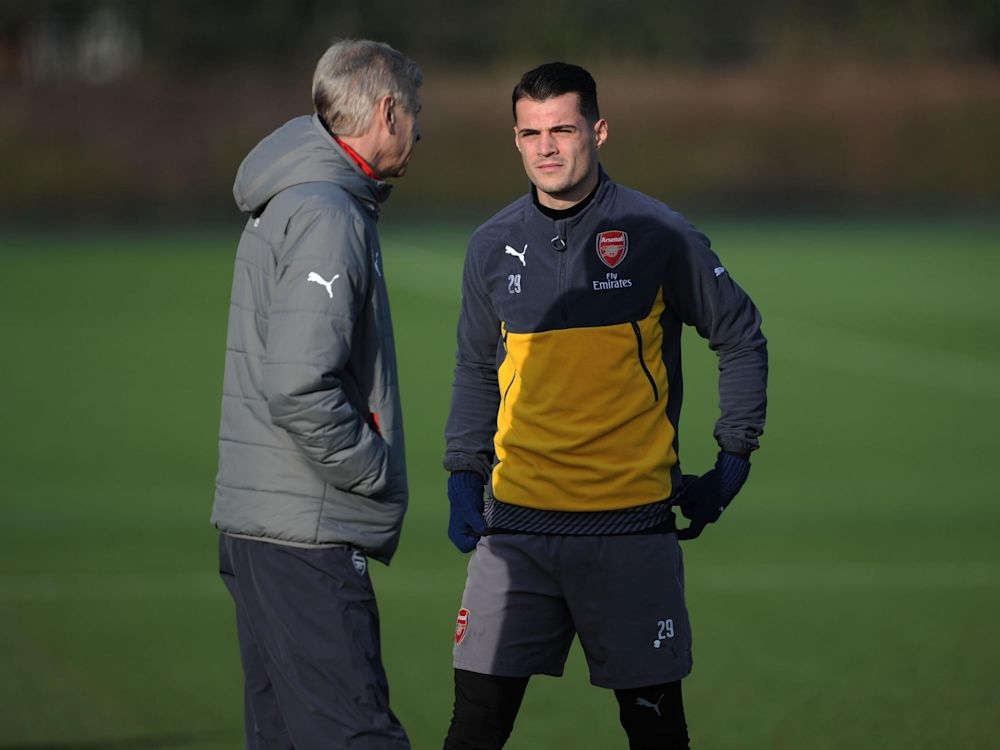 The Arsenal manager does not want to see his midfielder in trouble against West Brom: Getty