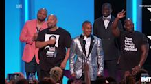 Exonerated Central Park Five Receive Standing Ovation At BET Awards