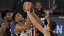 Reeling Bucks collapse late as Heat take commanding 3-0 series lead