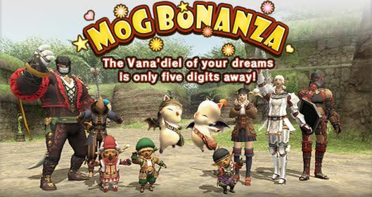 Win some Gil and more in Final Fantasy XI's latest Mog Bonanza