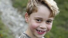Prince George turns seven, new photos