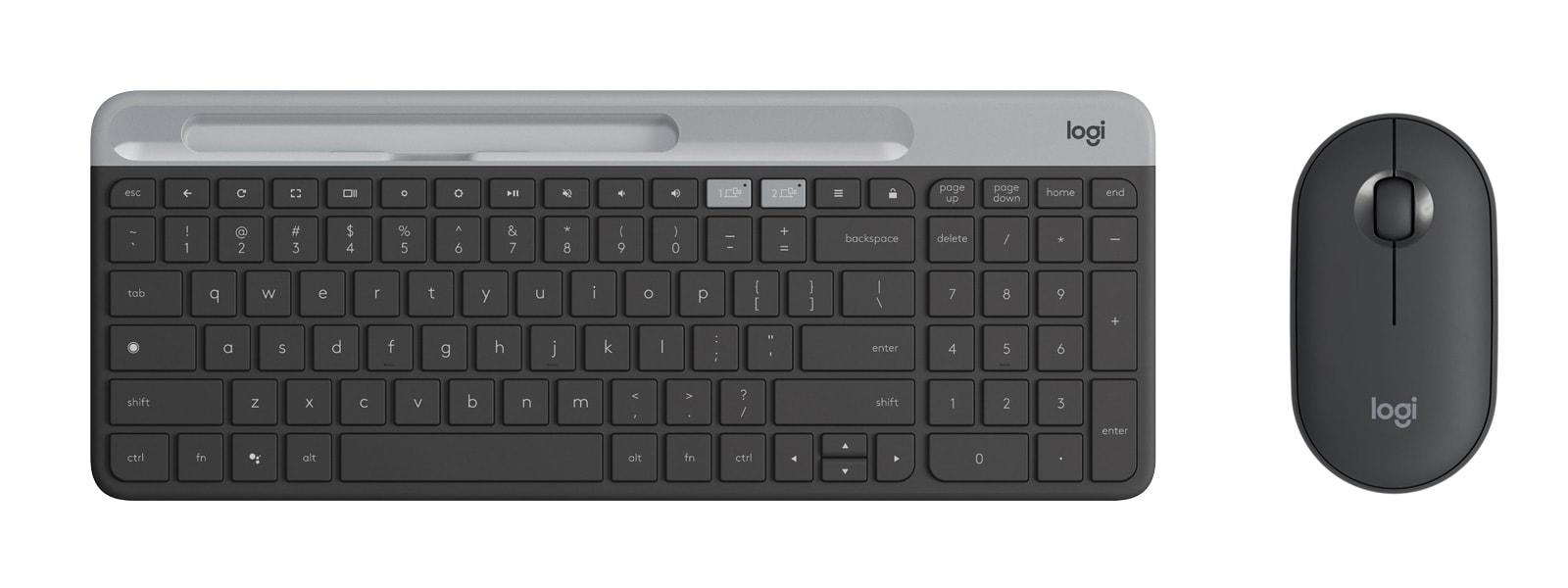 Logitech Unveils Its First Mouse And Keyboard Built For Chrome Os Updated Engadget