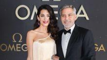 Amal Clooney como figura del Viejo Hollywood