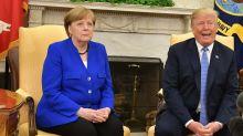 Merkel desmiente a Trump sobre el presunto aumento de criminalidad en Alemania