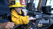 Vermont Boy's Wish Trip Ends At Famous Fire Station