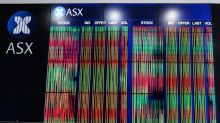 Aust stocks plunge, snapping gain streak