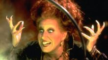 Bette Midler says she 'can't wait to fly' in 'Hocus Pocus' sequel