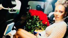Mel B recibe cien rosas de un admirador secreto