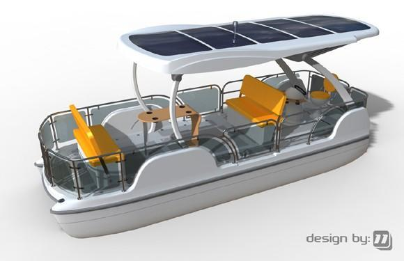 Aptera designers unveil solar-powered pontoon, the Loon