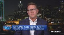 Airline culture shifts focus on customer service