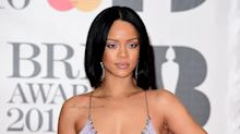 Rihanna may have turned 30 but she still can't wink