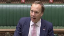 Matt Hancock says COVID test issues will take 'weeks' to fix as MPs accuse government of 'fiasco'
