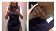 Woman calls out H&M sizing after having to go up four dress sizes from her usual 12 to a 20