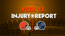 Browns injury update: Denzel Ward the only player fully sidelined in 1st practice of Week 13