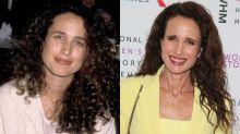 Así ha evolucionado la belleza de Andie MacDowell con el paso del tiempo
