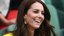 Kate Middleton just wore the cutest tennis print dress for her latest video chat