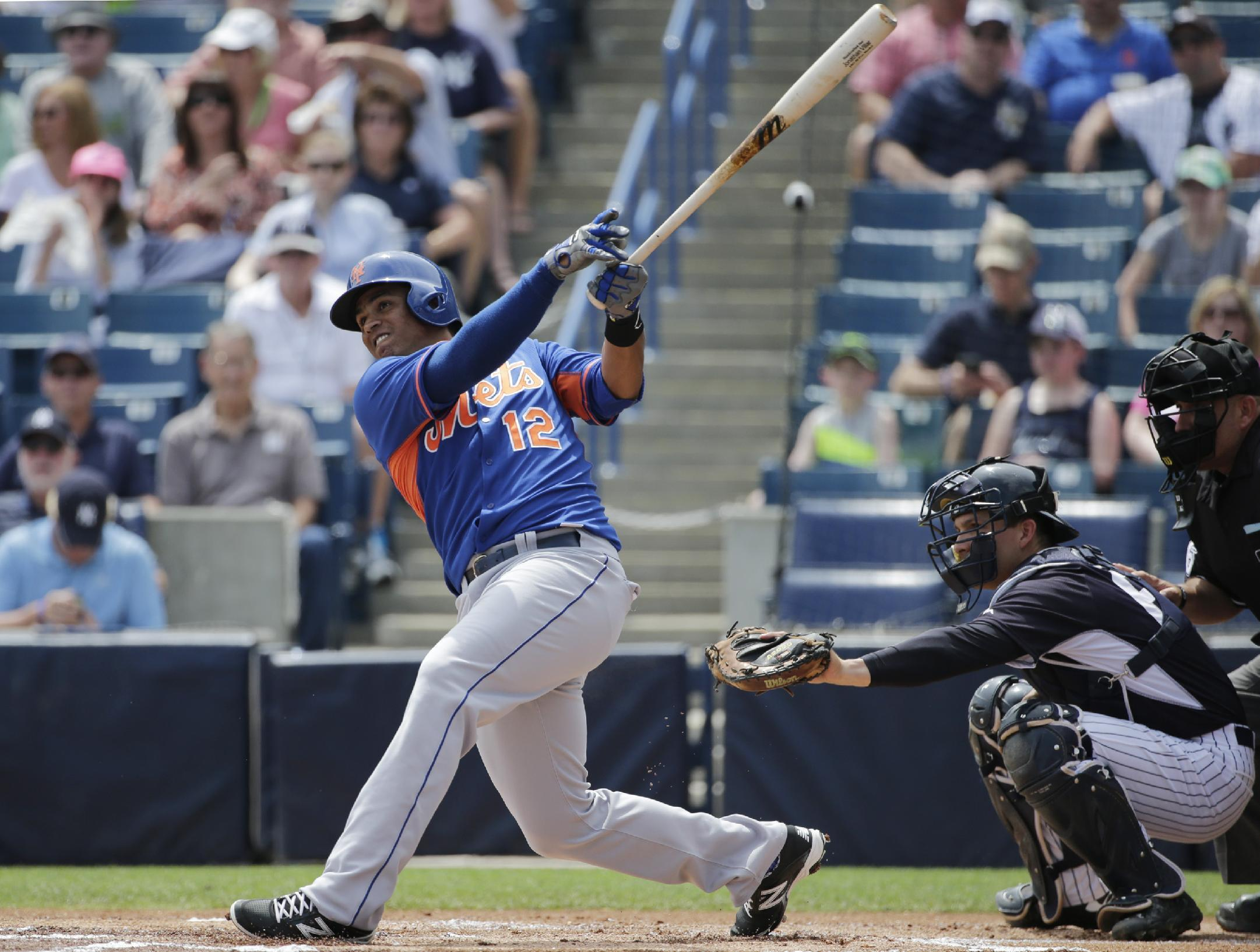 Mets, Juan Lagares agree to 5-year contract worth $23.55 ...