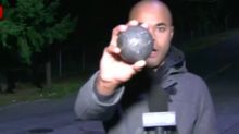 Seattle Motorists Stunned As 2-Pound Metal Balls Roll Down Street