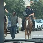 No criminal investigation for Texas police who led a black man by a rope through streets