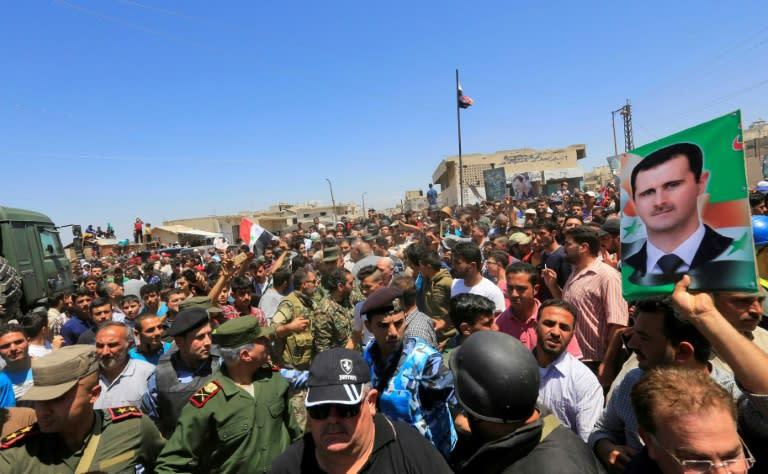 Resultado de imagem para evacuação de jihadistas do EI do sul de Damasco