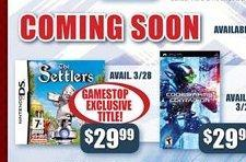 Settlers DS to be EB/Gamestop exclusive