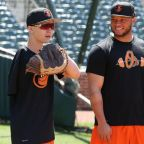 Orioles host aspiring one-armed catcher with inspiring resilience