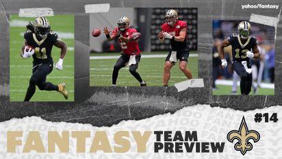QB questions cast doubt on Saints' fantasy outlook