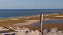 SpaceX's Starship prototype flies hundreds of feet for the first time