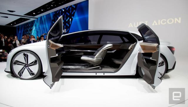 Audi's Aicon concept car is all about autonomous luxury