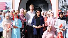 The Duchess of Sussex impresses by speaking French on royal tour of Morocco