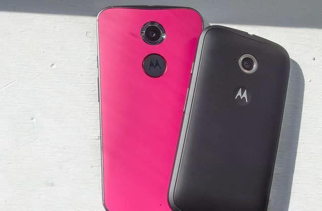 Buy the Moto X Pure Edition, get a free Moto E