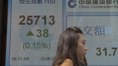 World shares mixed as investors assess oil, China clampdown