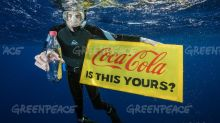 Greenpeace: Coca-Cola still not going far enough to reduce 'plastic footprint'