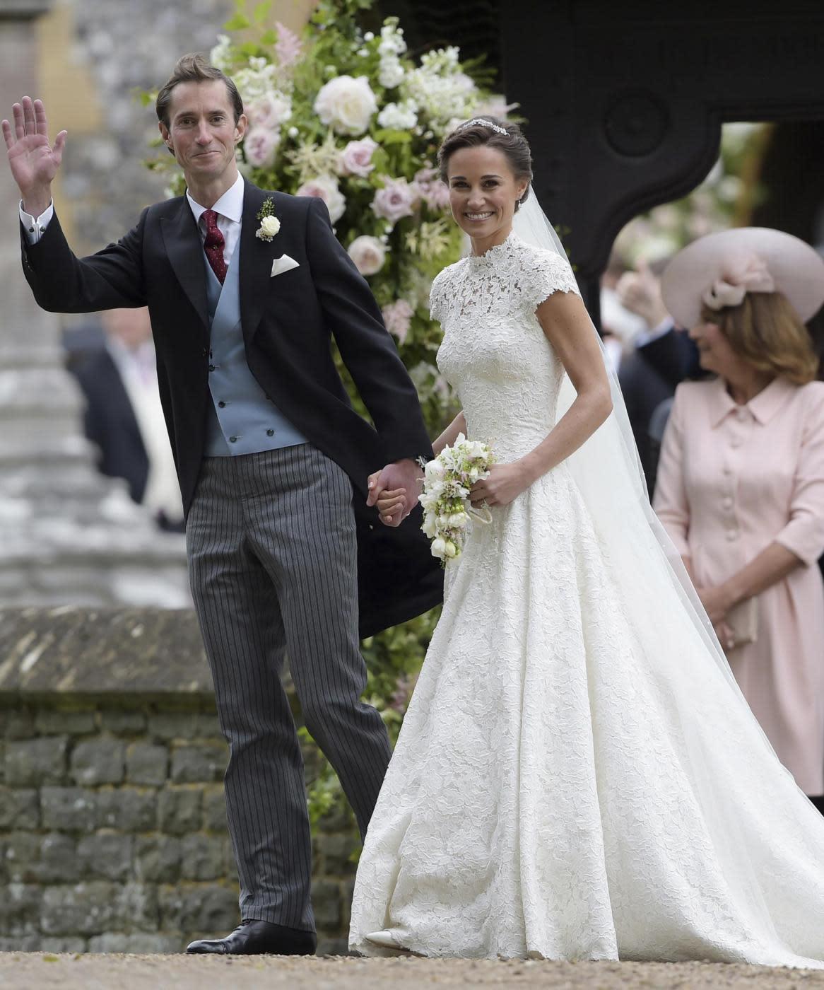 Matrimonio Pippa Middleton : Il matrimonio da sogno di pippa middleton