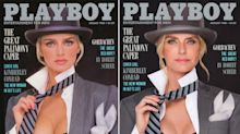 Iconic Playboy models re-enact famous covers - decades after first shooting them