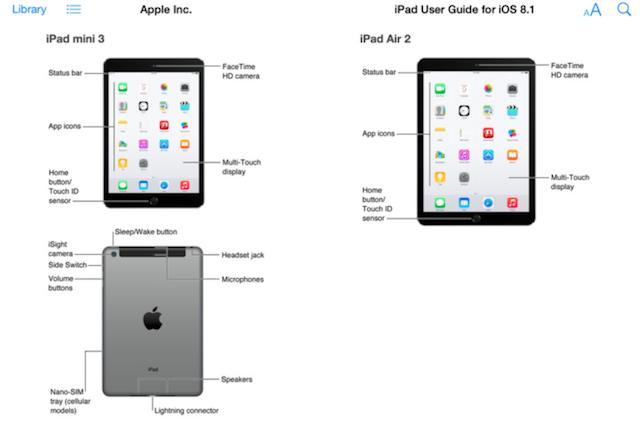 Apple accidentally leaks details on the iPad Air 2 and iPad Mini 3