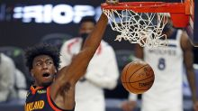 Warriors' 7-foot rookie James Wiseman wants into the NBA dunk competition