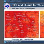 Kansas City temps climb toward 100 as air quality alert issued for metro area