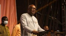 Burkina's Kabore says opposition leader congratulated him on victory