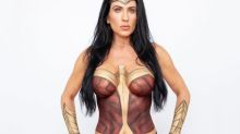 Can you see what's different about this Wonder Woman costume?