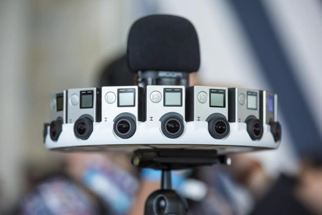 GoPro's 16-camera rig for Google Jump VR costs $15,000